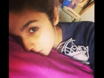 Alia Bhatt Posts Sick Selfie