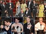 Oscars 2015 Winners Birdman Eddie Redmayne Julianne Moore