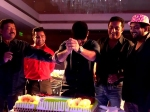 Jr Ntr Stabs Cake At Temper Success Party