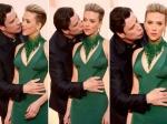 Scarlett Johansson On John Travolta Oscar 2015 Kiss His Kiss Was Welcome