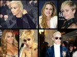 Celebs Who Went Blonde Kim Beyonce Miley And More