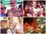 Salman Khan Family Arpita Celebrating Holi 2015 Festival 176118 Pg