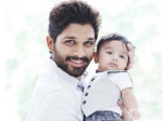 Allu Arjun Son Allu Ayaan To Debut In Son Of Satyamurthy
