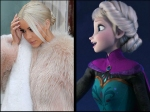 Kim Kardashian Reveals Frozens Elsa Reason Behind Her Going Blonde