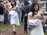 Selena Gomez Turns Mother Of James Franco Baby In Dubious Battle Sets