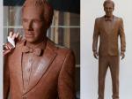 Benedict Cumberbatch Chocolate Statue Uktv