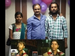 Director Shashank Poses With Real Life Krishna Leela Couple