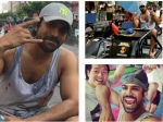 Ram Charan Sweating It Out In Bangkok