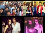 Shahrukh Khan Gauri Partying Goa Planet Hollywood Bash Visits Dilwale Sets