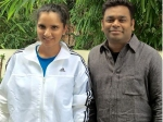 Ar Rahman Meets Sania Mirza To Congratulate Her Speaks About Women Athletes