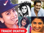 Tollywood Celebrities Who Died Young Soundarya Divya Bharati Uday Kiran