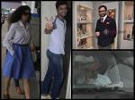 Kangana Ranaut Varun Dhawan Saif Spotted Bollywood Celebs Monday