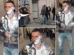 Adam Levine Flour Bombed Fan Jimmy Kimmel Show