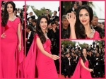 Cannes 2015 Live Red Carpet Day 2 Mallika Sherawat In Pink Couture