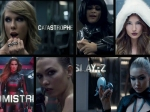 Bad Blood Music Video Taylor Swift Selena Gomez Jessica Alba Cindy Crawford More