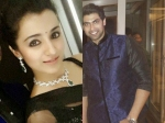Trisha And Rana At Manchu Manoj Sangeet Party