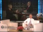 Ellen Degeneres Message David Letterman Last Show