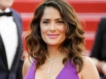 Salma Hayek Supports No Selfie Rule At Red Carpet