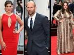 Spy London Premiere Melissa Mccarthy Nargis Fakhri Jude Law Jason Statham
