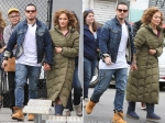 Jennifer Lopez Dating Casper Smart Walking Hand In Hand Shades Of Blue Shoot