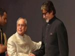 Amitabh Bachchan Attends Piku Screening At Rashtrapati Bhavan