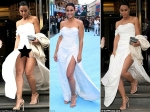 Emmanuelle Chriqui Wardrobe Malfunction Entourage London Premiere