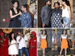 Pictures Deepika Ranveer Kangana Bollywood Actors Attend Aamir Pk Success Party