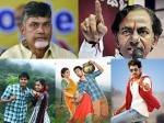 Andhra Pradesh And Telangana Politics To Effect Telugu Films Kcr Cbn