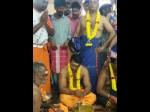 Darshan Heads To Sabarimala Prays For The Success Of Mr Airavata