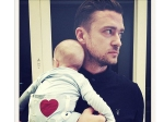 Celebrity Dads First Fathers Day Pics