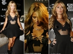 Paris Hilton Suffers Wardrobe Malfunction Milan New Single Launch