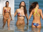 Alessandra Ambrosio Bikini Panama Beach Rio De Janeiro