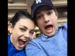 Ashton Kutcher Mila Kunis Married 4th July Weekend