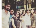Rana Trisha Spotted Partying Together Baahubali Ramya Krishna