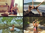 Gisele Bundchen Birthday Her Yoga Pics Instagram