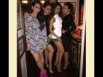 Kareena Kapoor Hubby Saif Ali Khan Caught Kissing Karisma At Birthday Party