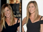 Jennifer Aniston First Look Post Wedding Ring Shes Funny That Way Premiere