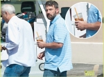 Ben Affleck Goes Out Without Wedding Ring First Time