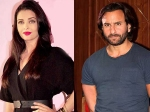 Saif Ali Khan Aishwarya Rai Bachchan Might Not Work In Sujoy Ghosh Film