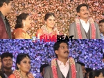 Live Glimpse From Shivarajkumar Daughter Nirupama Dileep Reception