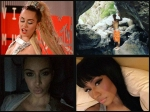Hollywood Celebrities Racy Bare Instagram Pics Miley Rihanna More