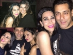 Salman Khan Karisma Kapoor Twinkle Khanna Partying Together Pictures