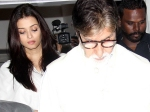 Pictures Aishwarya Rai Bachchan Amitabh Celebs At Aadesh Shrivastava Prayer Meet