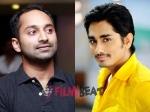 Siddharth Narayan Replaces Fahadh Faasil