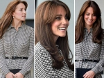Kate Middleton Maternity Leave Over Returns Public Duty Bangs Does Cardio Heels