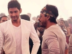 Shah Rukh Khan Visits Mahesh Babu On Brahmotsavam Sets
