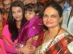 Aishwarya Rai Bachchan Aaradhya Rani Mukherjee Vidya Balan Spotted At Ganapati Mandal
