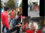Director Choreographer Harsha On The Sets Of Bengal Tiger