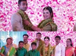 Radhika Daughter Rayane S Engagement Photos