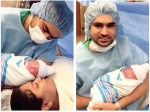 Ex Bigg Boss Contestant Veena Malik Blessed With Baby Girl Pics